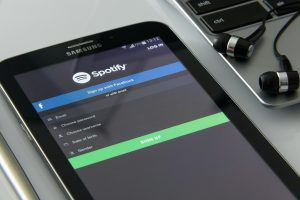 spotify on cell phone