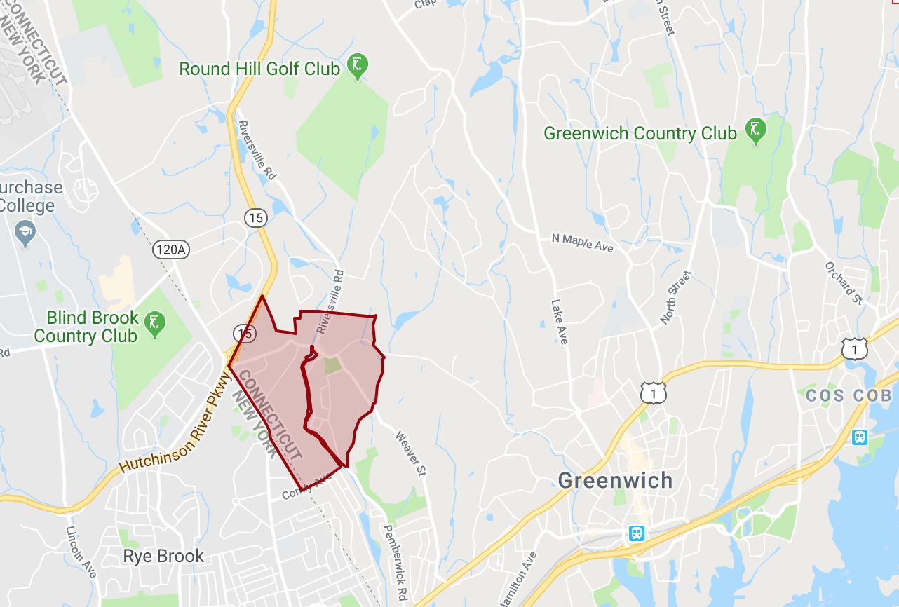 Glenville Map