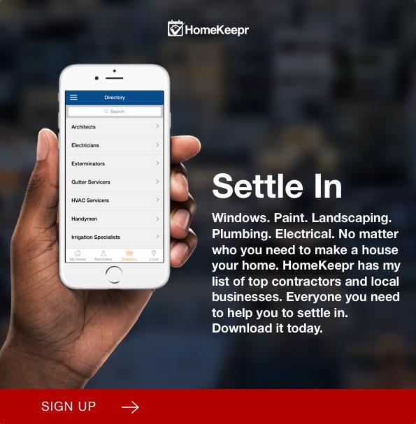HomeKeepr App