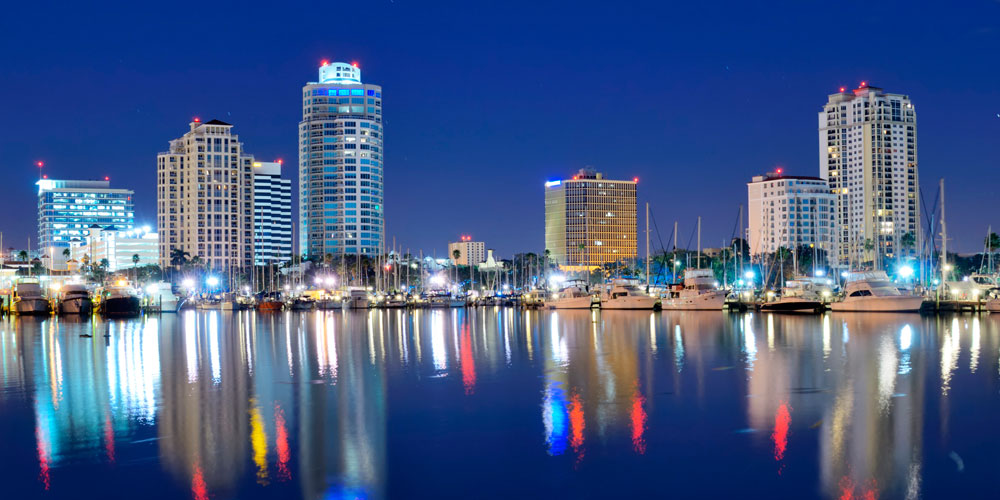 Moving to St. Petersburg | Tampa Bay Relocation Guide | St. Petersburg waterfront