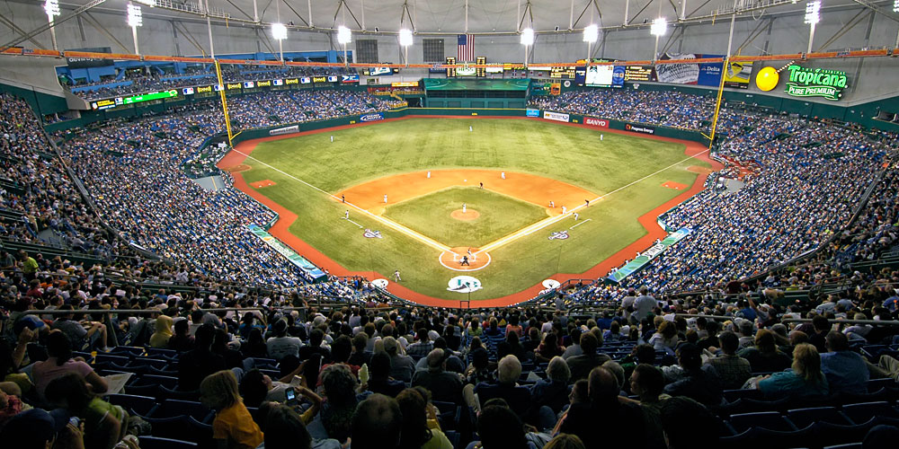 Moving to St. Petersburg | Tampa Bay Relocation Guide | Tropicana Field
