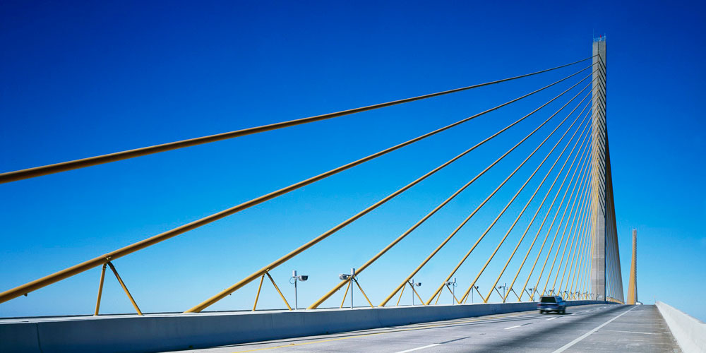 Moving to St. Petersburg | Tampa Bay Relocation Guide | Sunshine Skyway Bridge to St. Petersburg
