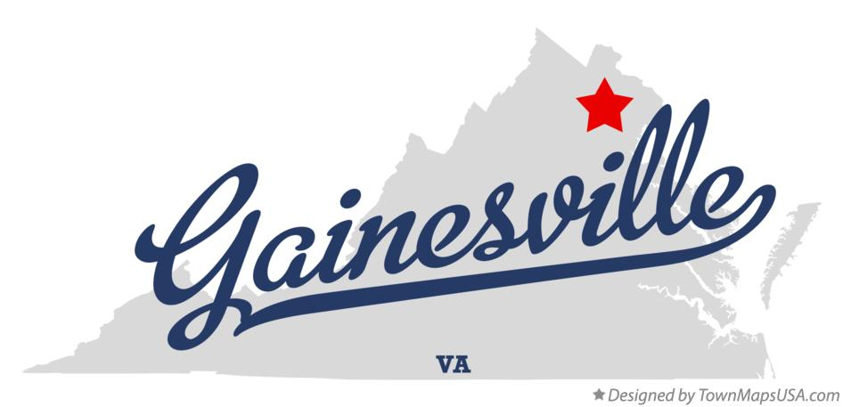 map_of_gainesville_va