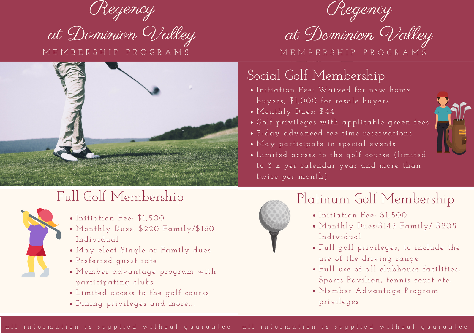 Regency Golf Membership